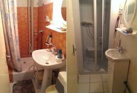 Avant / Après d'une salle de bain