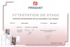 Attestation Frisquet
